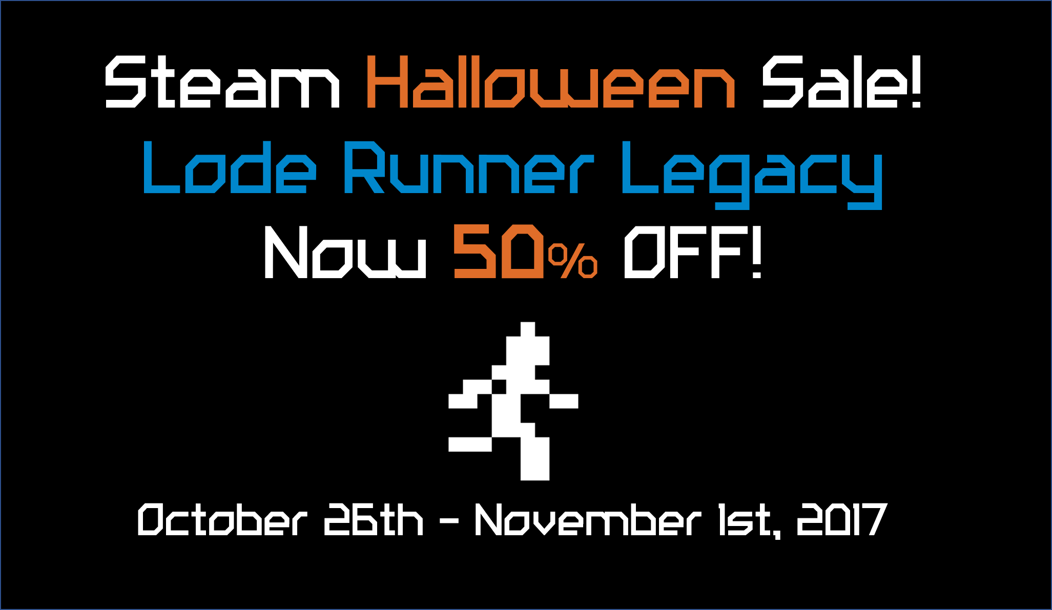 Steam Halloween Sale! Now 50% OFF!
