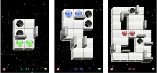 three Sync-Ball screenshots